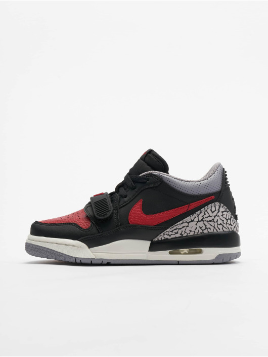 Nike Air Jordan Legacy 312 Low (GS) Sneakers BlackVarsity RedBlackCement Grey