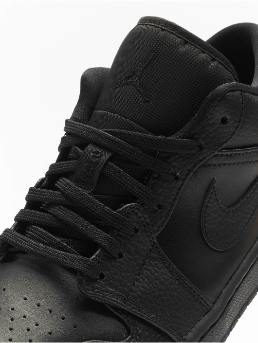 Jordan sneaker 1 Low zwart