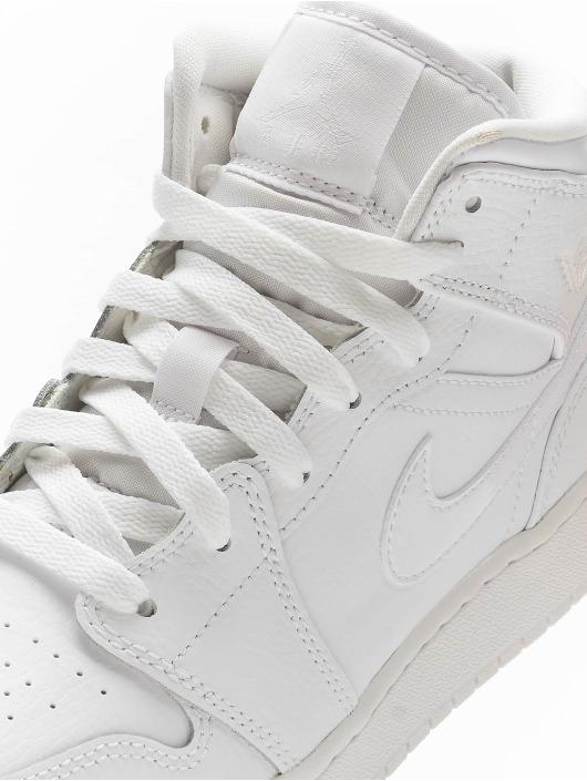 Jordan Sneakers Jordan 1 Mid (GS) bialy