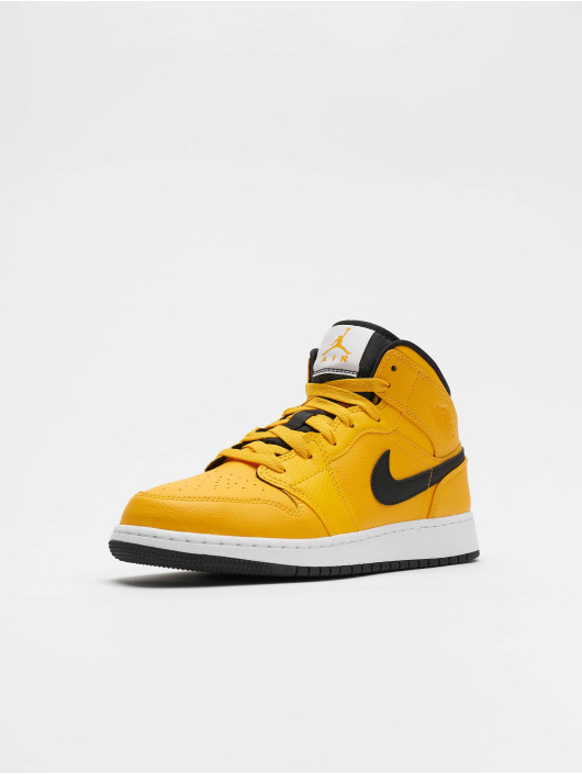 Jordan Sneakers Air Jordan 1 Mid (GS) gold colored