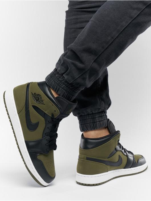 Jordan Sneakers Air Jordan 1 Mid oliwkowy