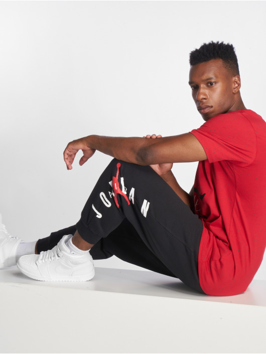 Jordan Spodnie do joggingu Jumpman Air Graphic Fleece czarny
