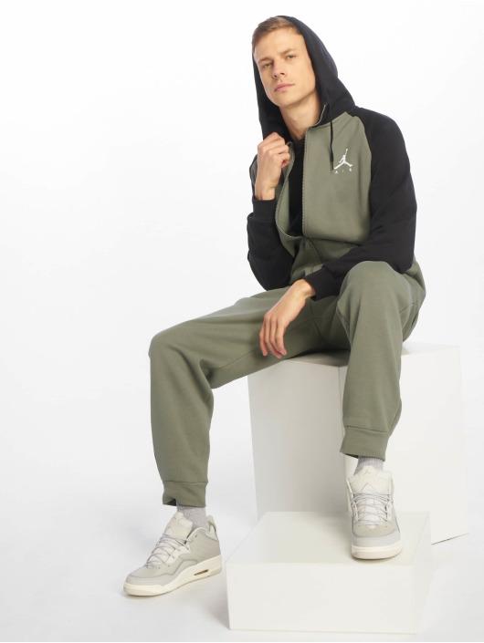 Jordan Spodnie do joggingu Sportswear Jumpman Fleece oliwkowy