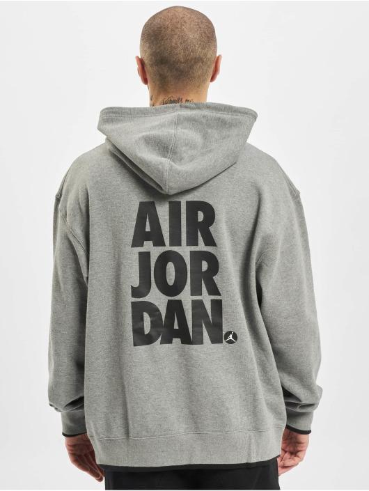 Jordan Sudadera Classics gris