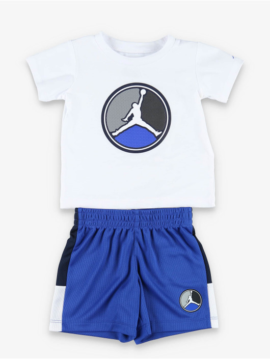 Jordan Suits AJ8 Front Circle S/S blue