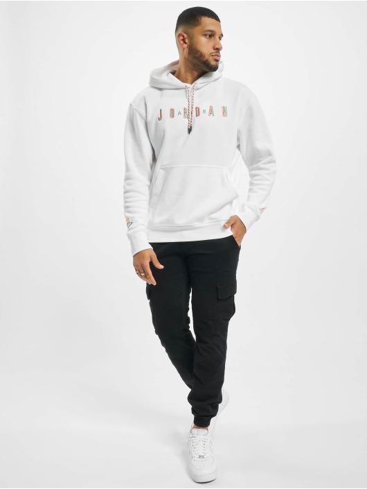 Jordan Sweat & Pull M J Sprt Fleece blanc