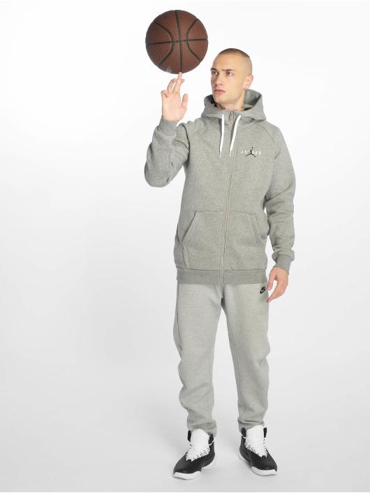 Jordan Sweat capuche zippé Jumpman Air gris
