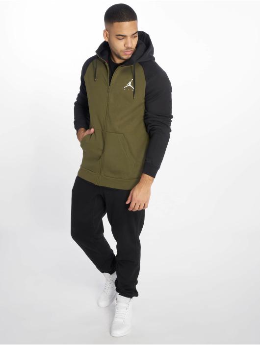 Jordan Sweat capuche zippé Sportswear Jumpman Fleece olive