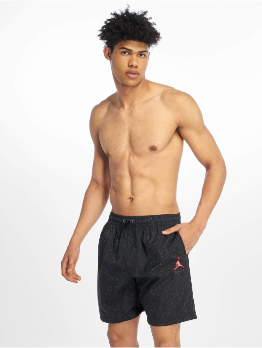 "Jordan Swim shorts Jumpman Cement Poolside 7"" black"