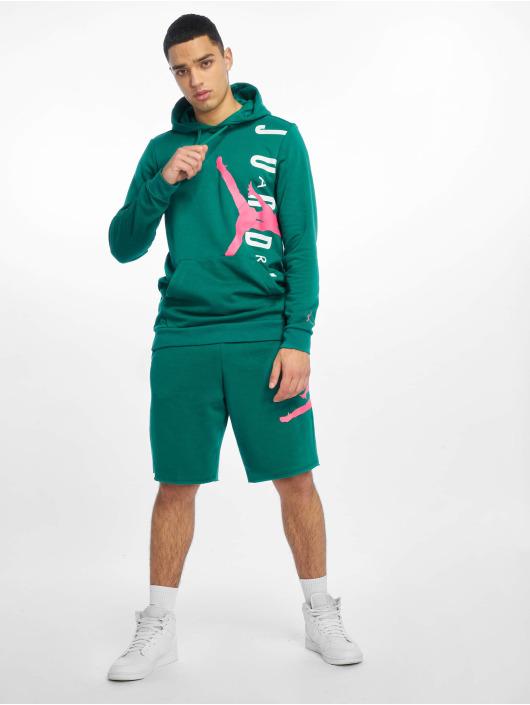 Jordan Szorty Jumpman Logo Fleece zielony