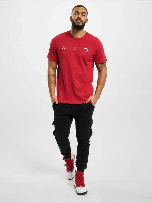 Jordan T-paidat Jumpman Air Hbr punainen