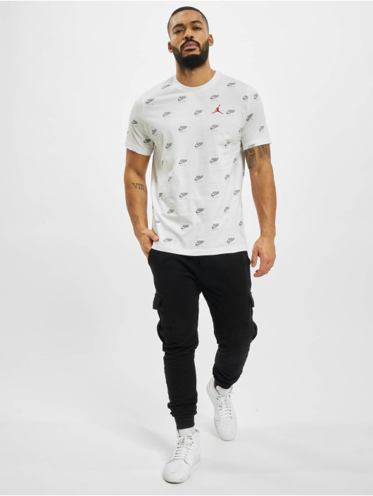 Jordan T-paidat Jumpman valkoinen