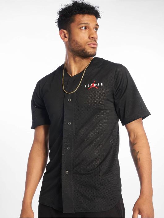 Jordan T-Shirt Jumpman Air Mesh Jersey Gym black
