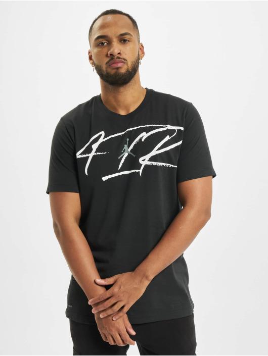 Jordan T-Shirt Air Defect SS Crew black