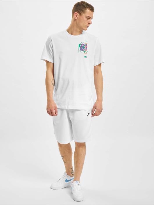 Jordan T-Shirt M J JAir Futura SS Crew blanc
