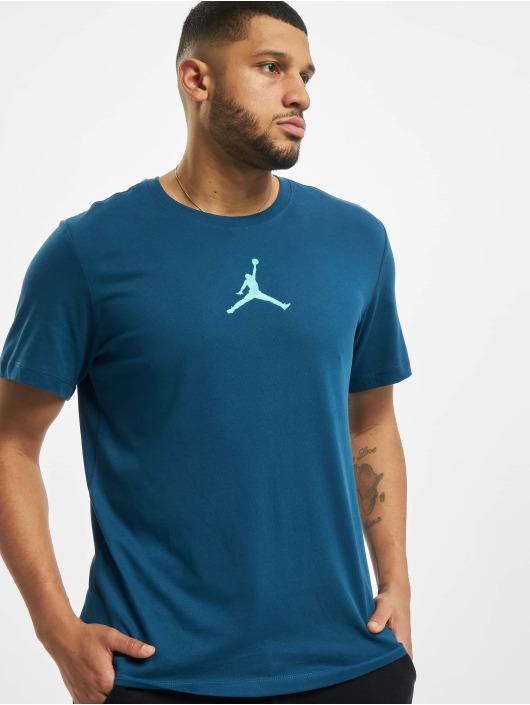 Jordan T-Shirt Jumpman Defect Crew blau