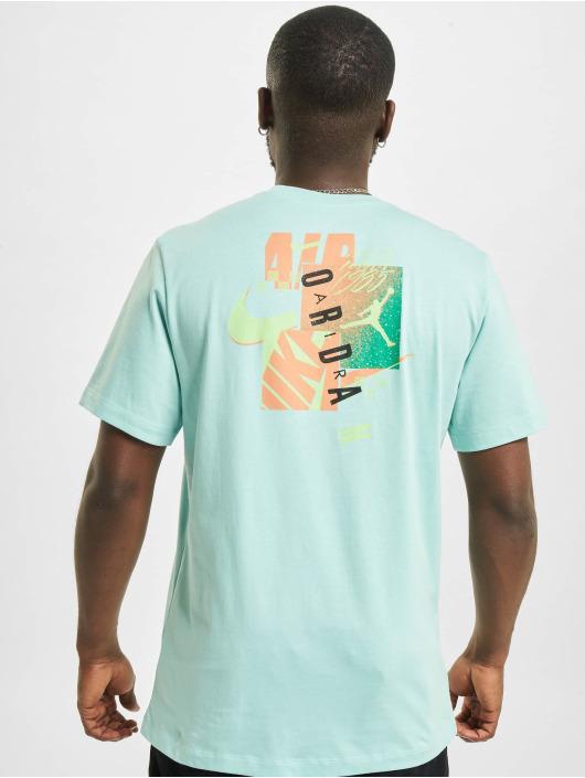 Jordan T-Shirt M J JAir Futura SS Crew blau