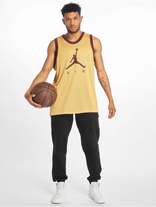 Jordan T-Shirt Jumpman Air Mesh Jersey gold