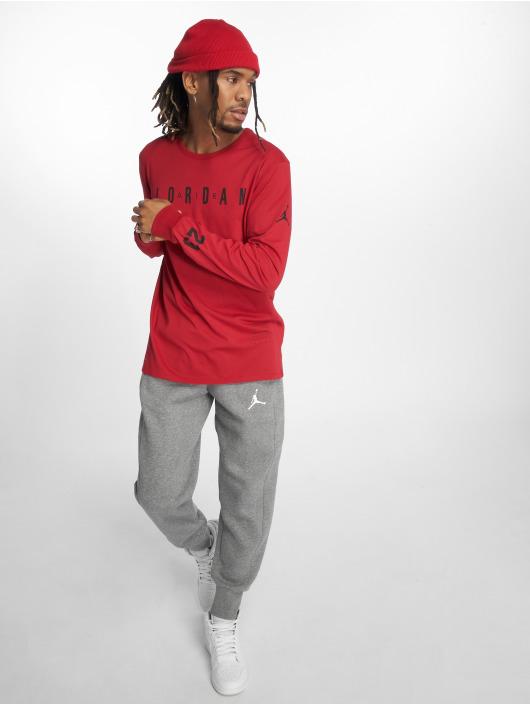 Jordan T-Shirt manches longues Ho 1 rouge