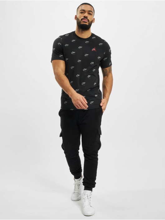 Jordan T-shirt Jumpman nero