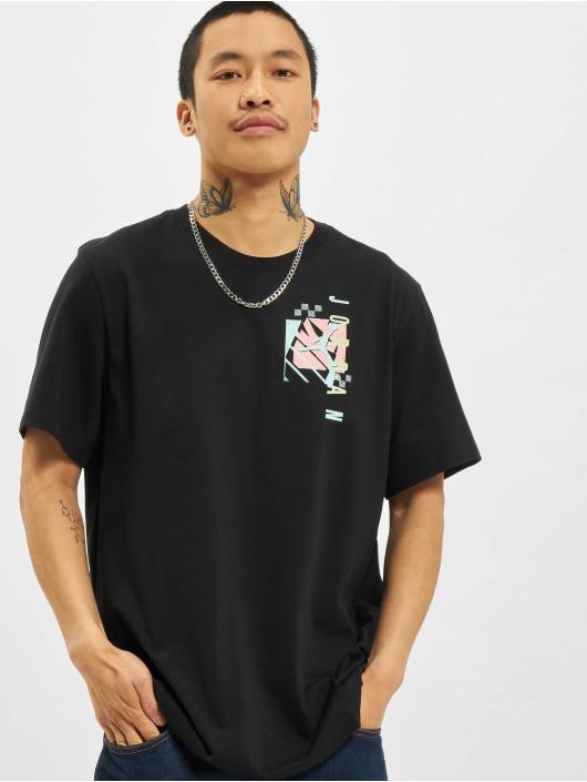 Jordan T-Shirt M J JAir Futura SS Crew noir