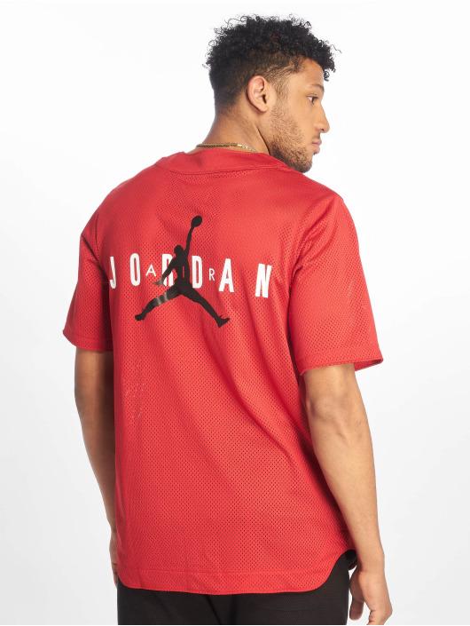 Jordan T-Shirt Jumpman Air Mesh Jersey Gym red