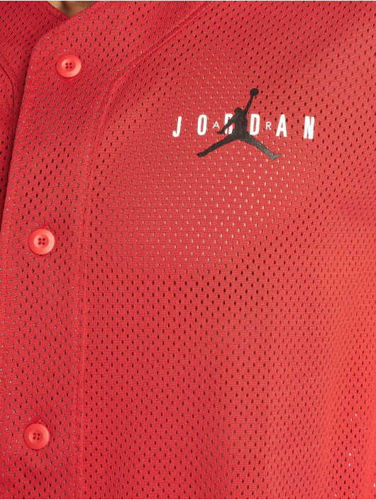 Jordan T-Shirt Jumpman Air Mesh Jersey Gym rouge