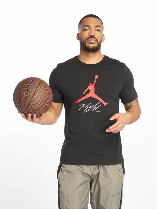 Jordan T-Shirt Jumpman Flight schwarz