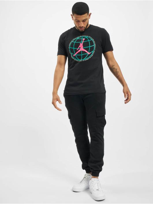 Jordan T-Shirt M J Mountainside schwarz