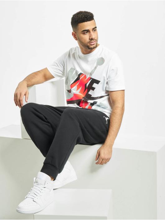 Jordan T-Shirt Jumpman Classics HBR Crew weiß