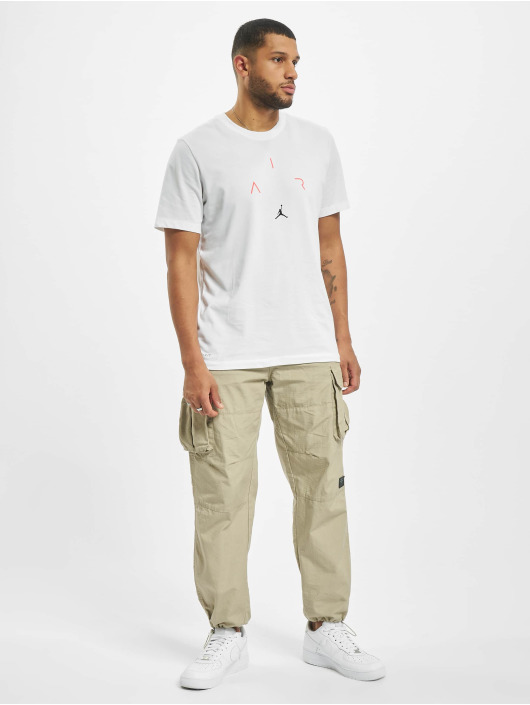 Jordan T-Shirt Air Defect Crew white