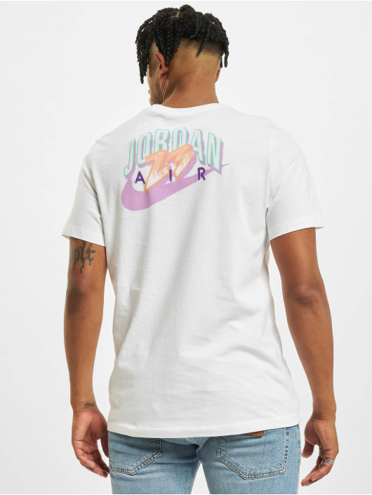 Jordan T-Shirt M J Brand white