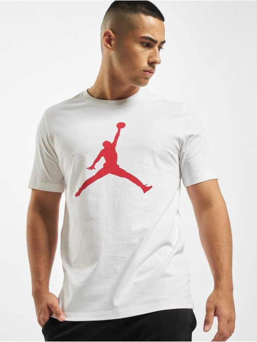 Jordan T-shirts Jumpman Crew hvid