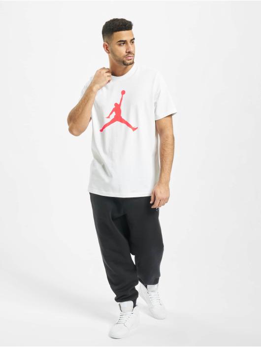 Jordan T-Shirty Jumpman Crew bialy