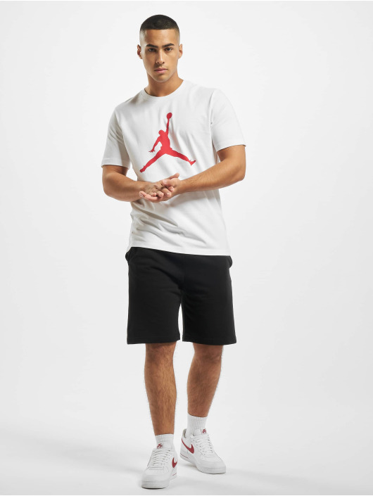 Jordan T-Shirty Jumpman Crew bialy