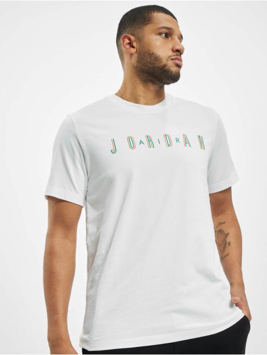 Jordan T-Shirty Sport DNA Crew bialy