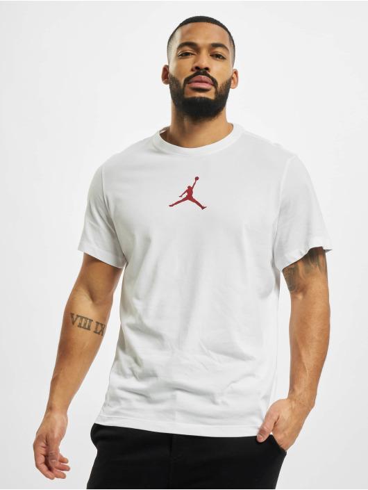 Jordan T-Shirty Jumpman bialy
