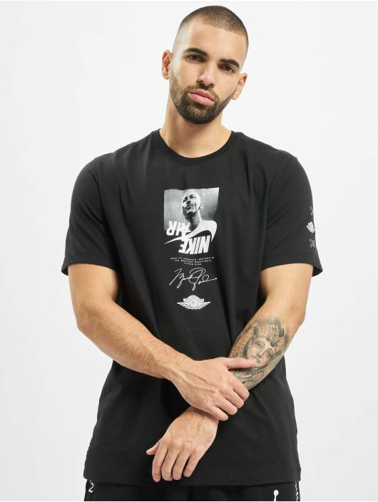 Jordan T-Shirty SS CTN The Man Crew czarny