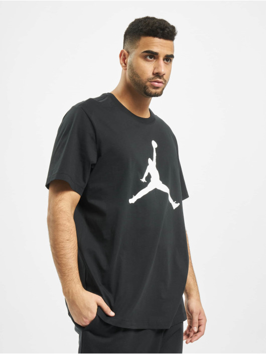 Jordan T-Shirty Jumpman Crew czarny