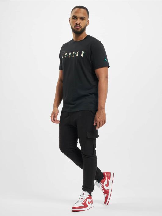 Jordan T-Shirty Sport DNA Crew czarny