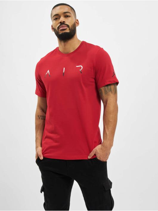 Jordan T-Shirty Jumpman Air Hbr czerwony