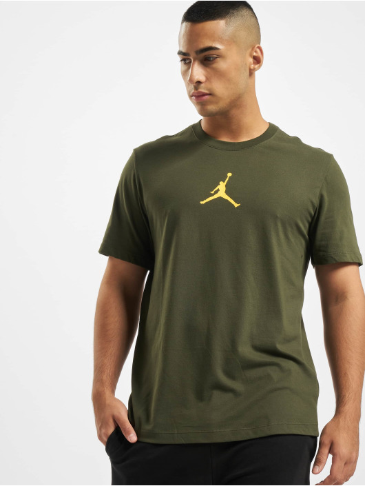 Jordan T-Shirty Jumpman Defect SS Crew khaki