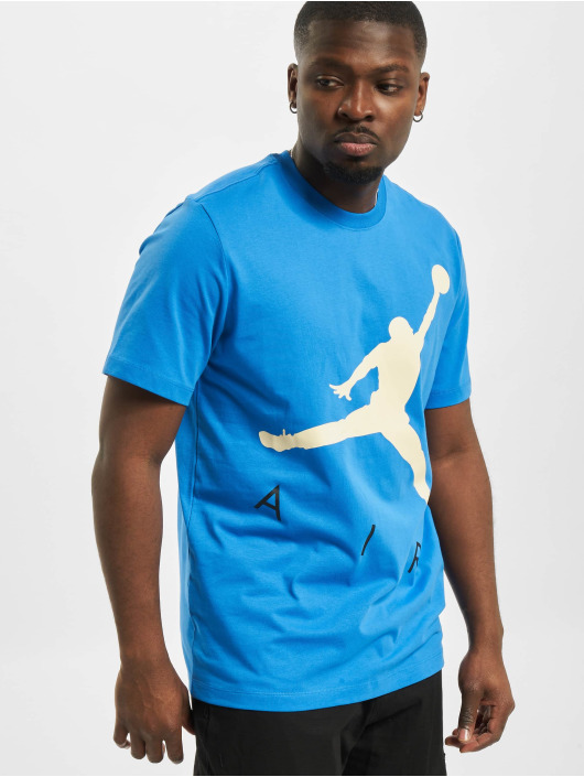 Jordan T-Shirty Jumpman Air HBR niebieski