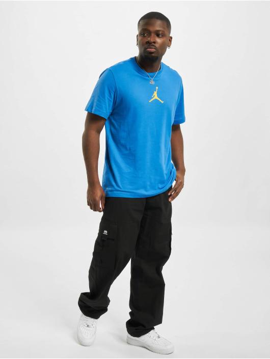 Jordan T-Shirty Jumpman DF niebieski