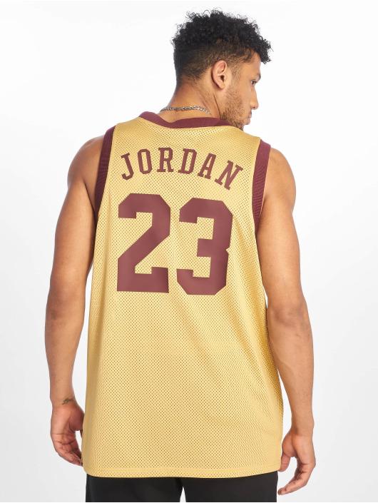 Jordan T-Shirty Jumpman Air Mesh Jersey zloty