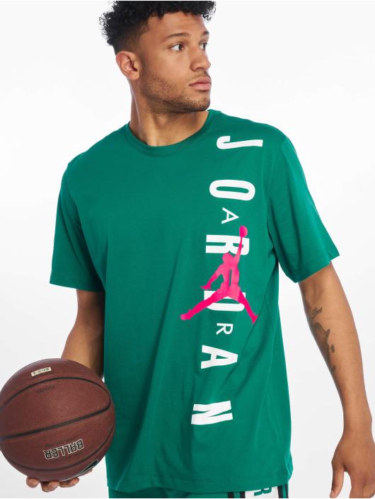 Jordan T-skjorter HBR Vertical Jordan grøn