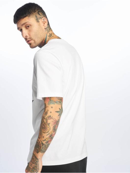 Jordan T-skjorter Jumpman SS Crew hvit