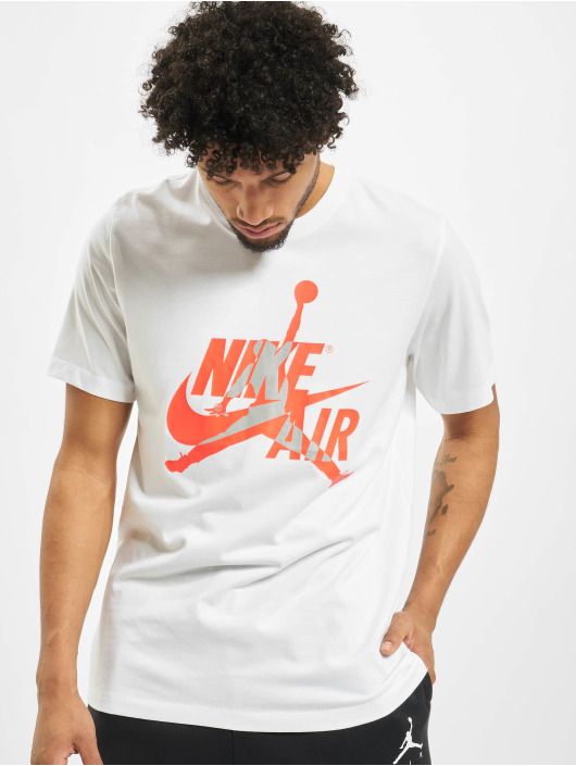 Jordan T-skjorter JM Classics Crew hvit