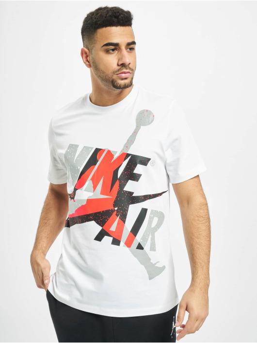 Jordan T-skjorter Jumpman Classics HBR Crew hvit