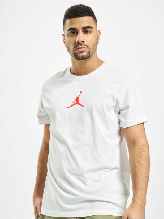 Jordan T-skjorter Jumpman Crew hvit
